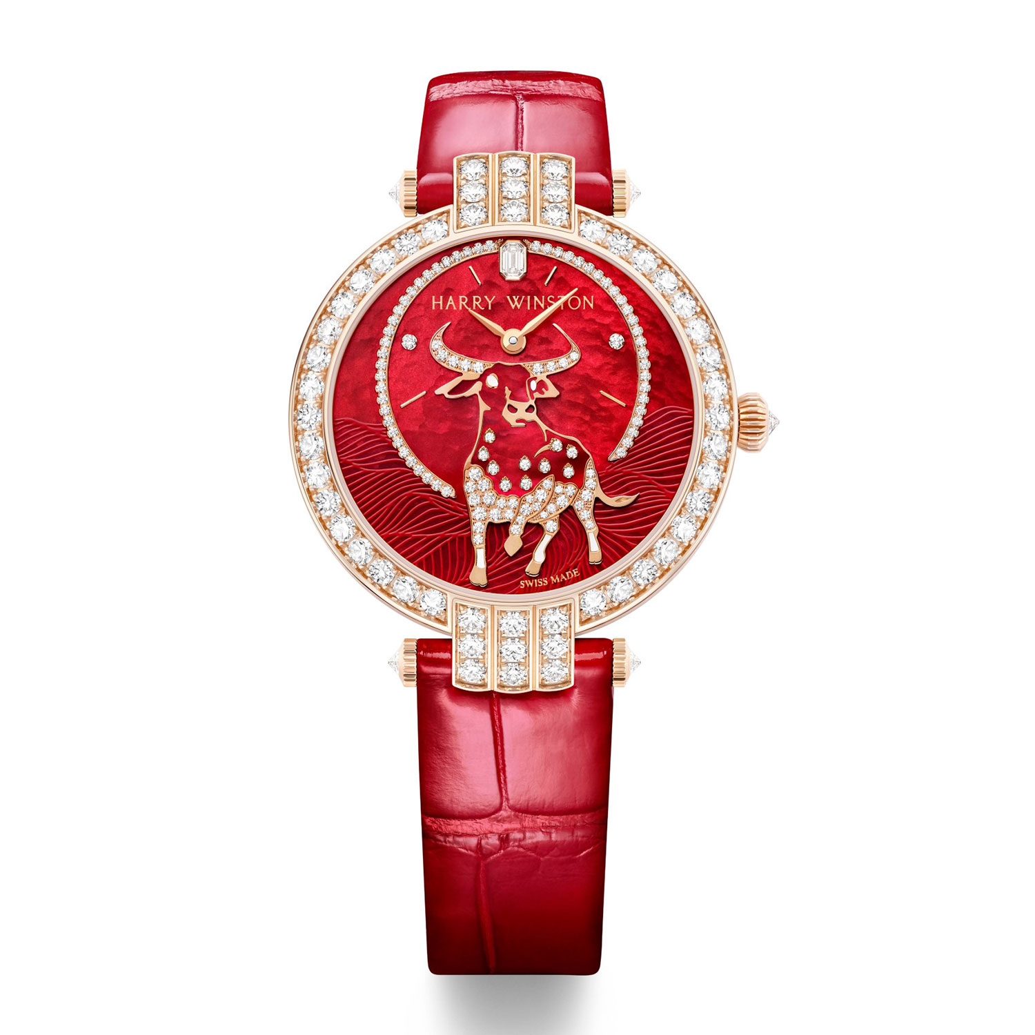 Đồng hồ Tết 2021: Harry Winston Premier Chinese New Year Automatic 36mm
