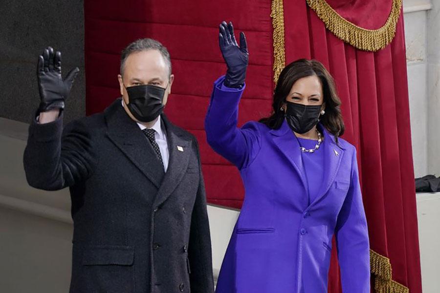 Vì sao các chính trị gia mặc màu tím tại lễ nhậm chức tổng thống Biden? 2