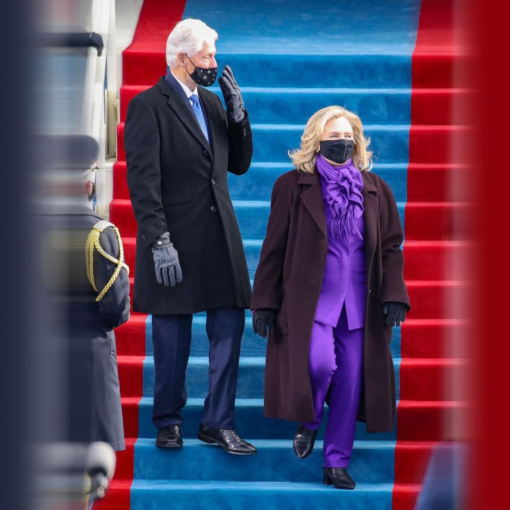 Vì sao các chính trị gia mặc màu tím tại lễ nhậm chức tổng thống Biden? 1