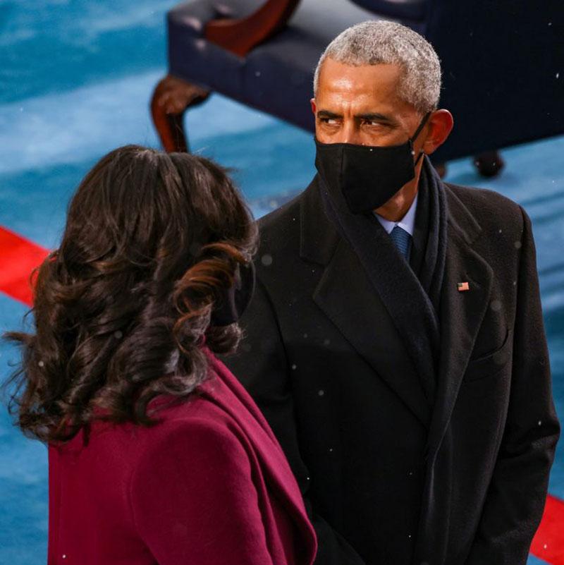 Vì sao các chính trị gia đồng loạt diện gam màu tím tại lễ nhậm chức của tổng thống Mỹ Biden?