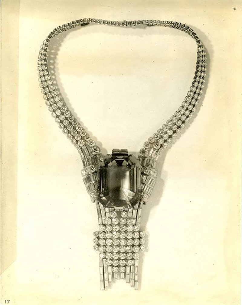 Viên kim cương 80 carat của Tiffany & Co sẽ được đặt trong mẫu vòng cổ này