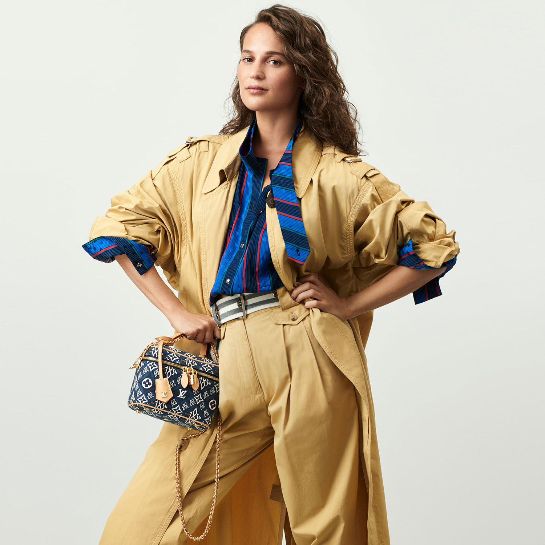 Louis Vuitton mở rộng dòng Since 1854 với các mẫu túi denim xanh biển