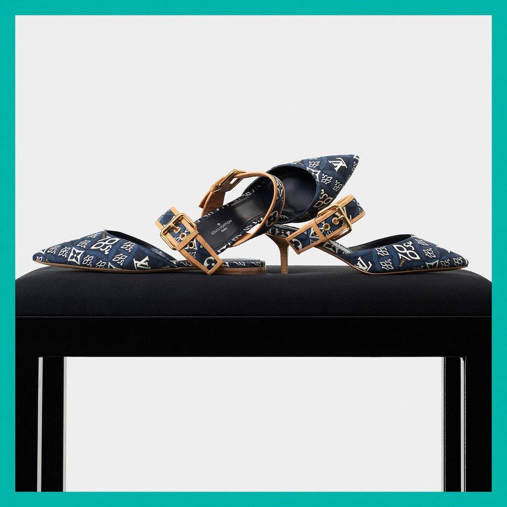 Louis Vuitton mở rộng dòng Since 1854 với các mẫu túi denim xanh biển 4