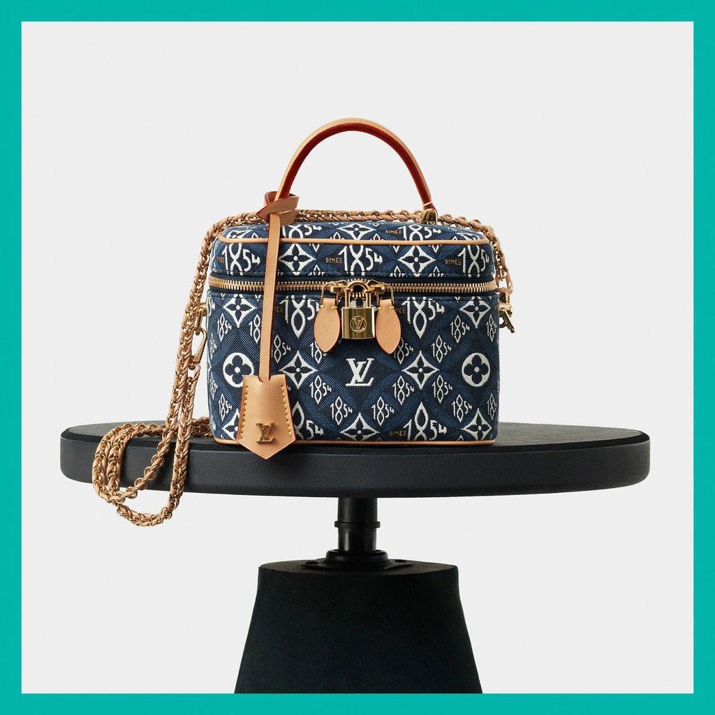 Louis Vuitton mở rộng dòng Since 1854 với các mẫu túi denim xanh biển 2