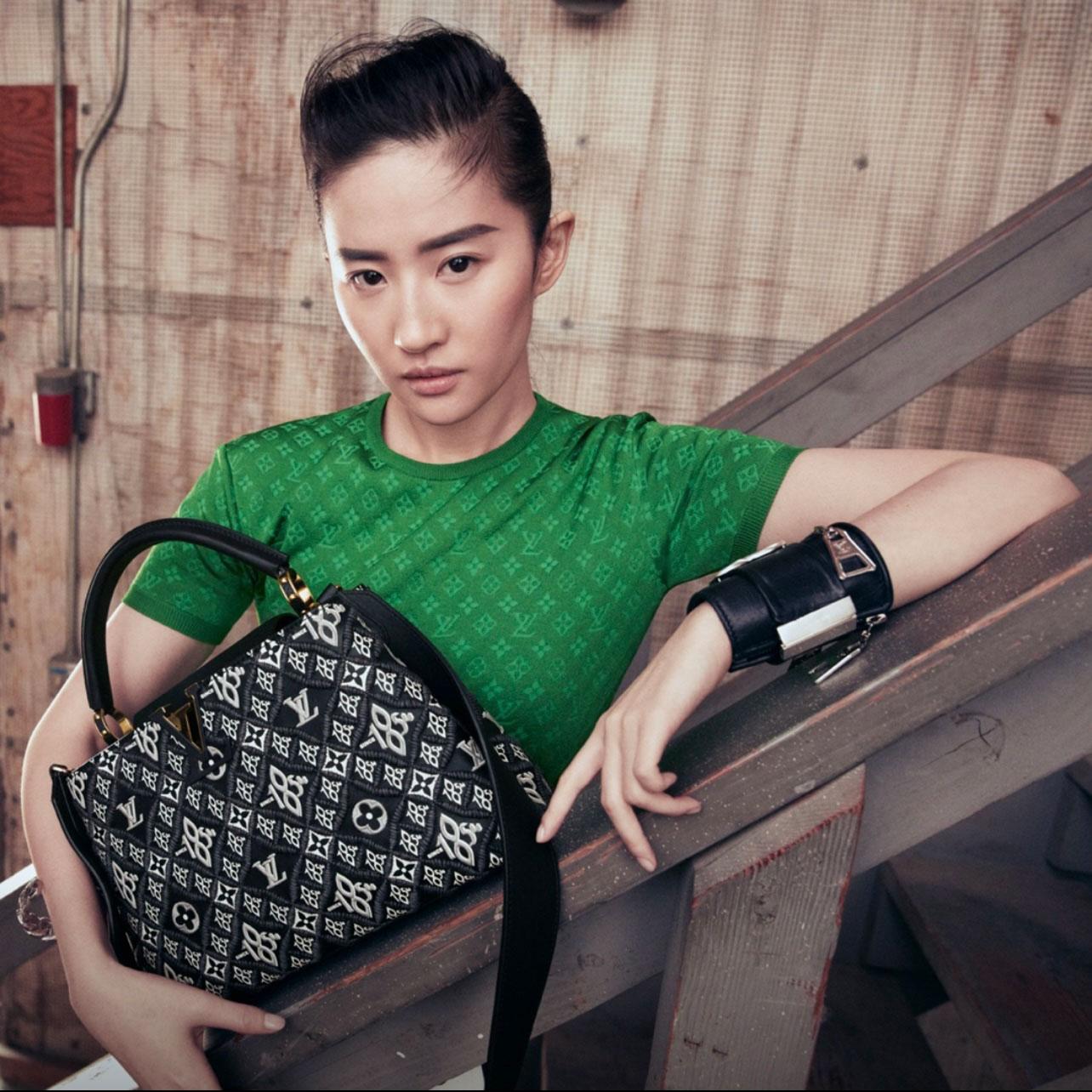 Lưu Diệc Phi trở thành gương mặt đại diện Louis Vuitton