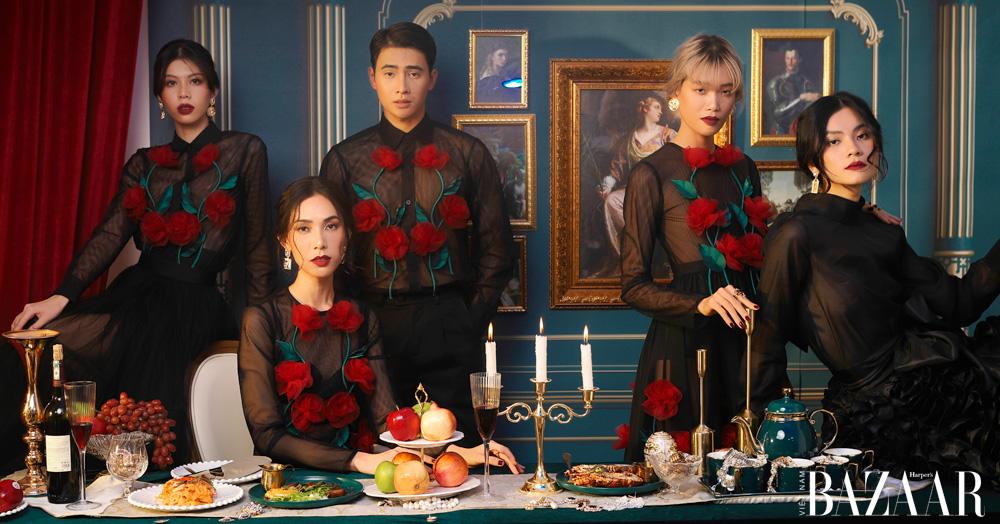 NTK Nguyễn Minh Công chào năm mới bằng bữa tiệc thời trang quý tộc 2