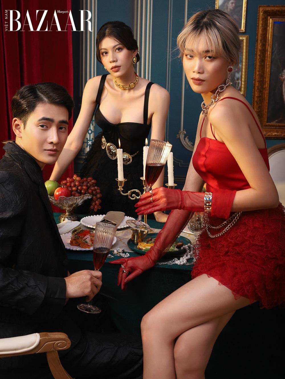 NTK Nguyễn Minh Công chào năm mới bằng bữa tiệc thời trang quý tộc 1