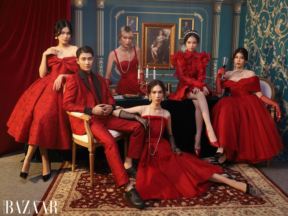 NTK Nguyễn Minh Công chào năm mới bằng bữa tiệc thời trang quý tộc 3