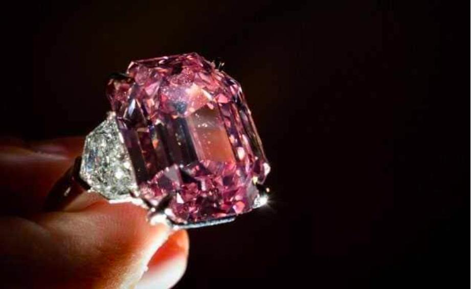 nhẫn kim cương hồng 19 cara, The Pink Legacy
