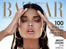 Bìa Harper's Bazaar VN số 1-2021: Thiên thần Daniela Braga (5)