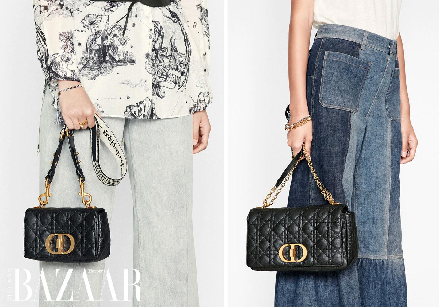 Tìm hiểu về Dior Caro   Túi Dior mùa Xuân Hè 2021 3