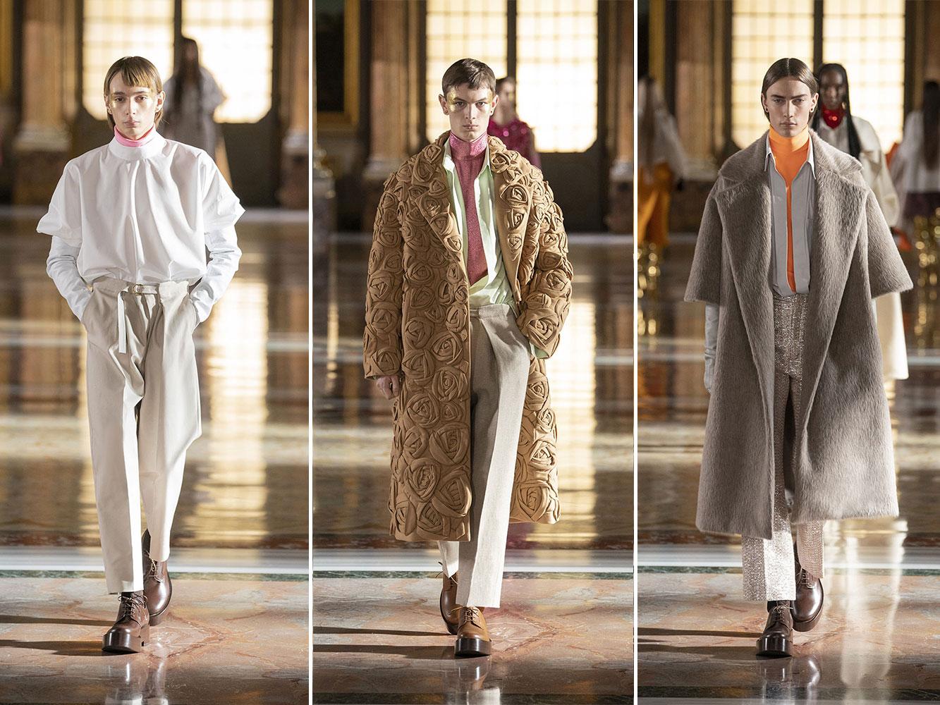 Valentino Haute Couture Xuân Hè 2021: Phong cách unisex