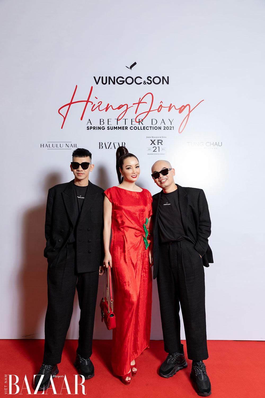 Thảm đỏ hot nhất đầu năm 2021: Dàn sao Việt đình đám quy tụ trong show của Vungoc&son 40