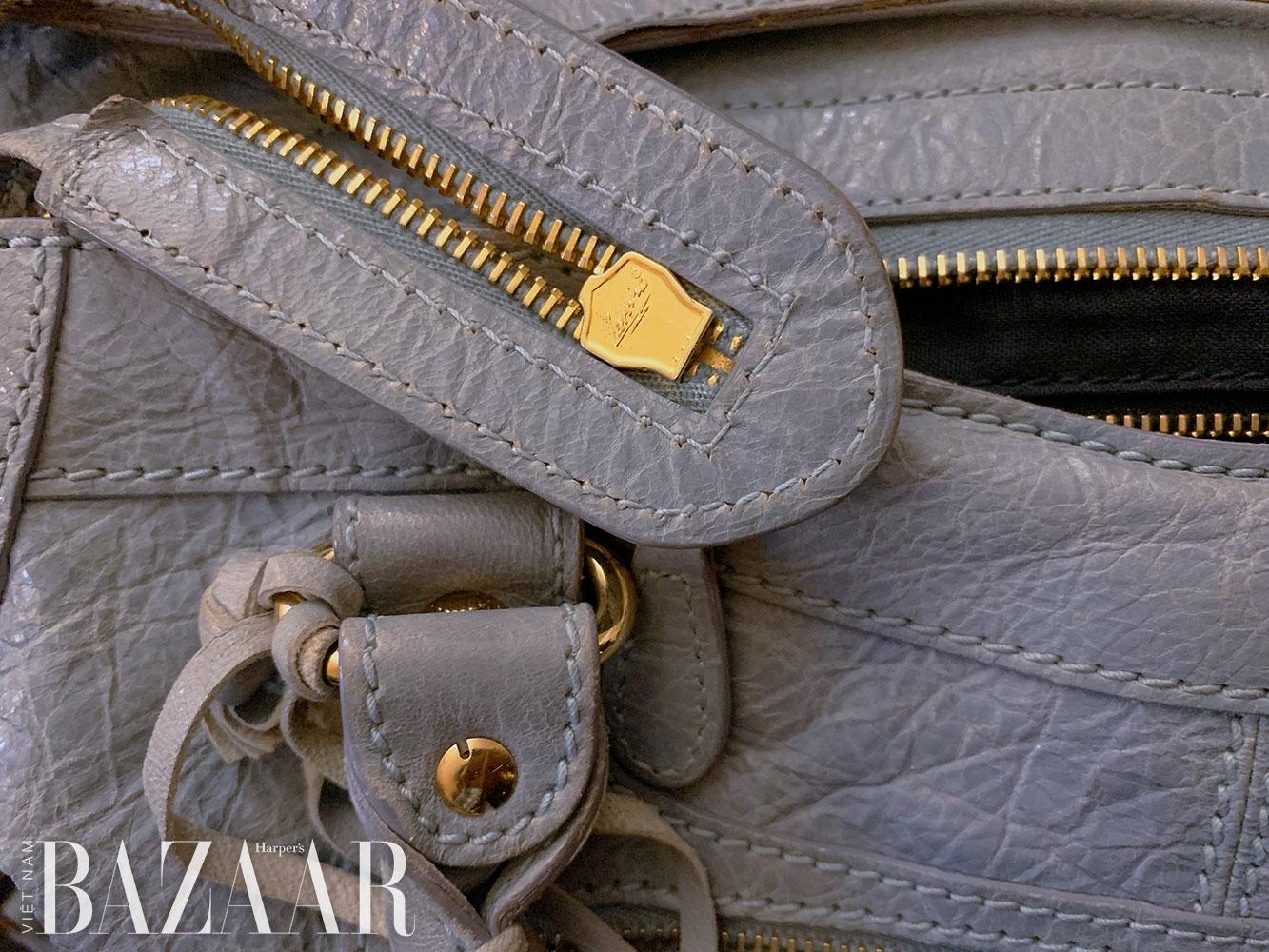 Dây khóa kéo: Chi tiết giúp phân biệt túi xách thật – giả, sang – dổm 3