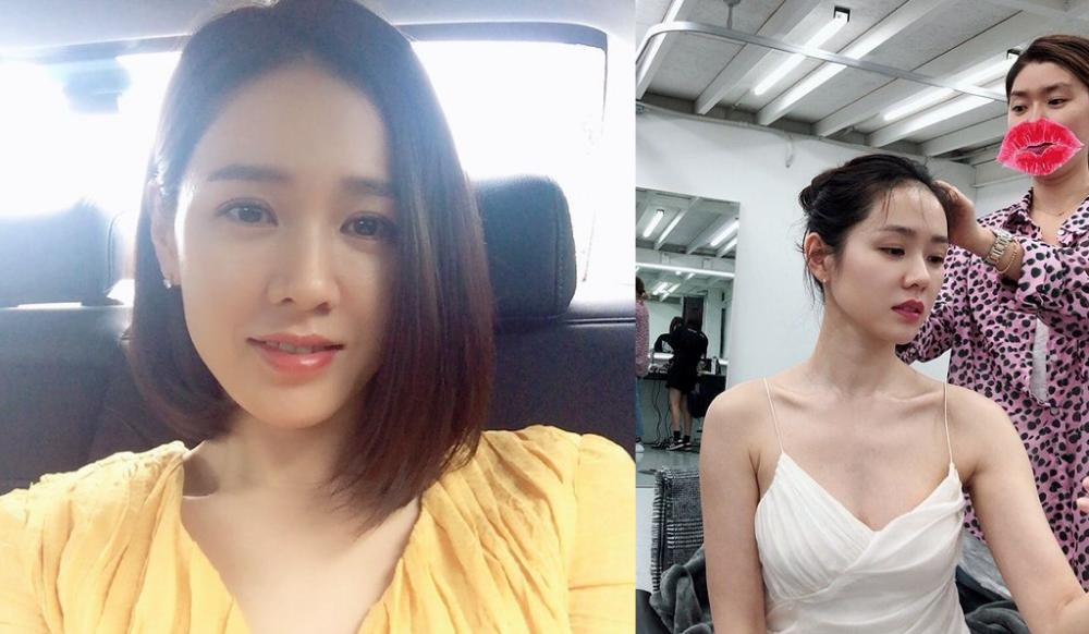 """""""Quốc bảo nhan sắc"""" Hàn Quốc sở hữu làn da sáng, đẹp dù sắp bước sang U40. Ảnh: Instagram @yejinhand."""