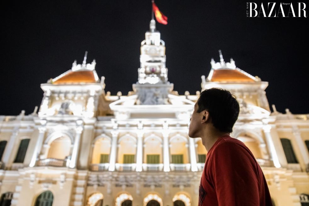 Florian Picasso tại Sài Gòn.