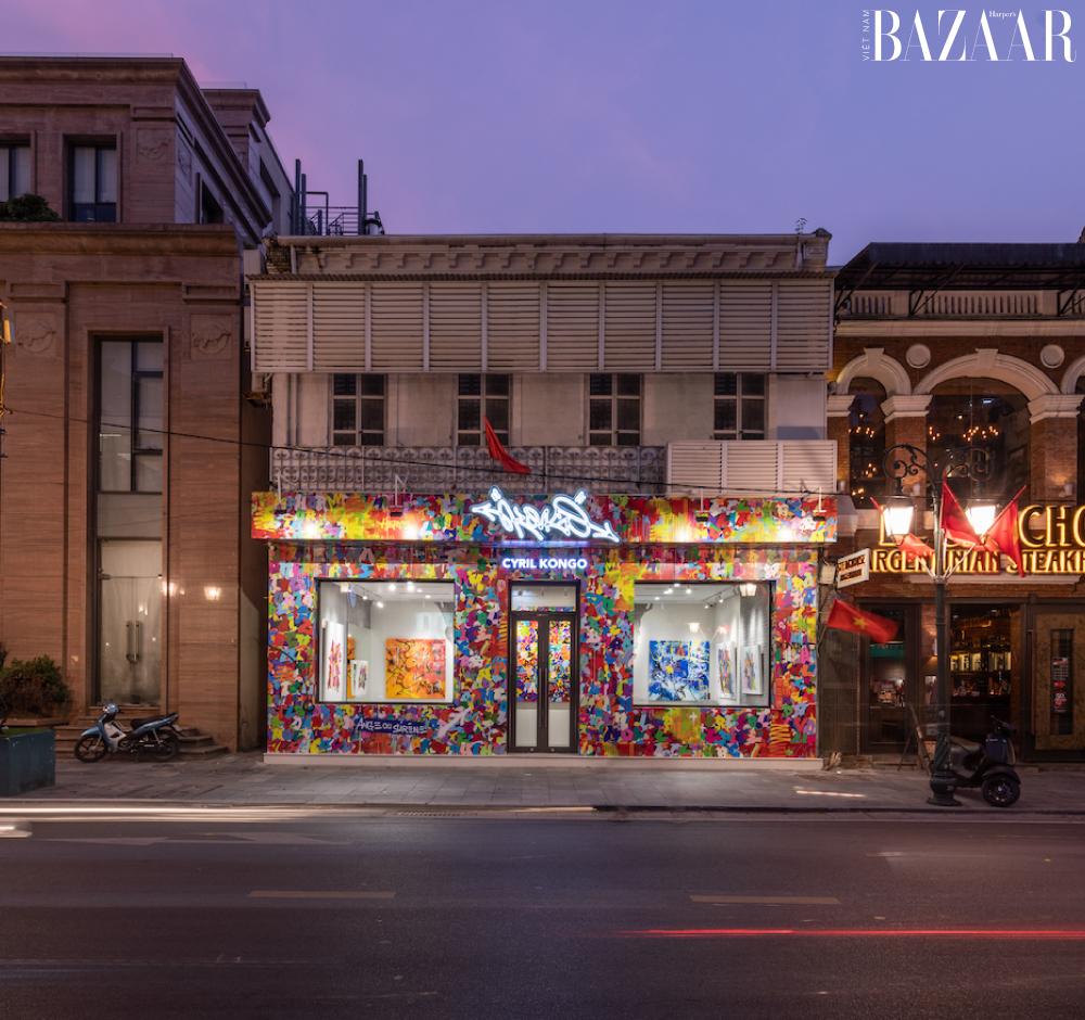 Gallery của Cyril Kongo ở Hà Nội.