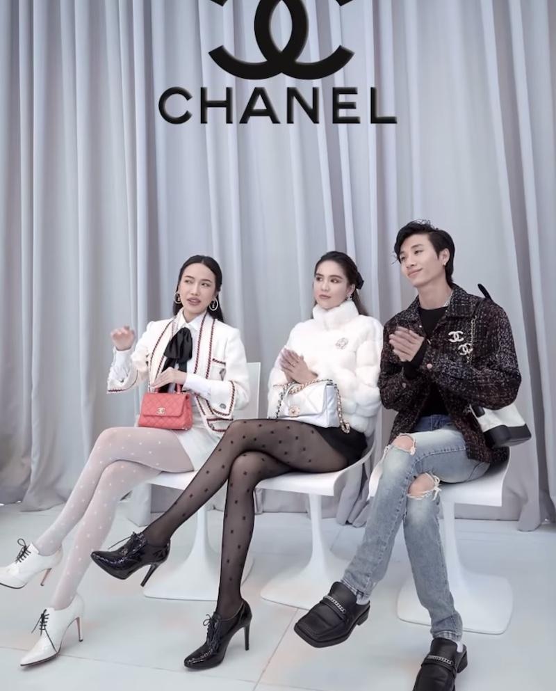 """Ngọc Trinh, Diệu Nhi, stylist Bảo Luận làm clip theo trào lưu """"front row fits"""" cực chuẩn"""