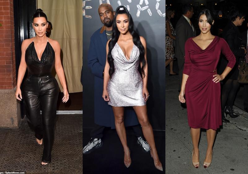 Cách mặc đẹp cho nàng ngực khủng như Kim Kardashian