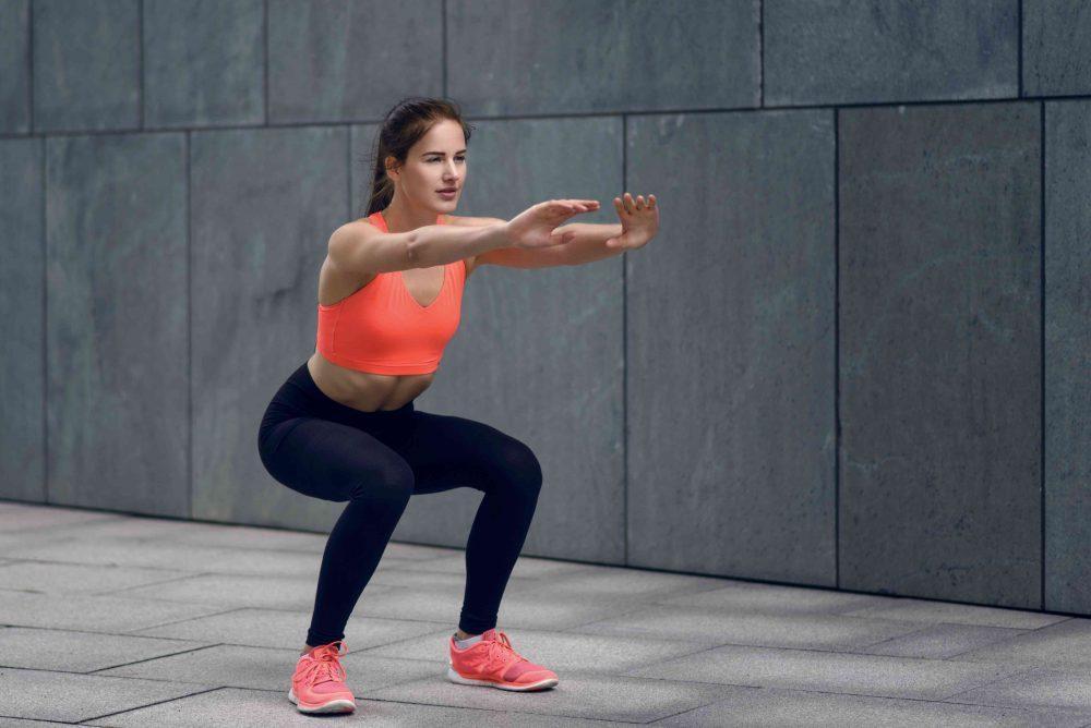Side squat step