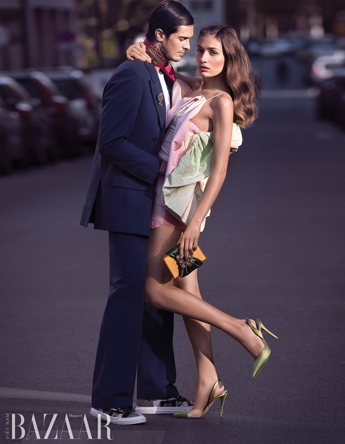 Bộ ảnh thời trang: Valentine's Day in Paris của nhiếp ảnh gia Peter Soubbotnik