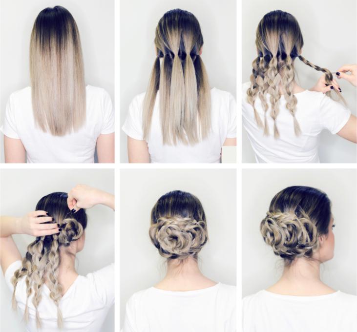 Cách búi tóc đẹp và đơn giản kiểu nữ thần