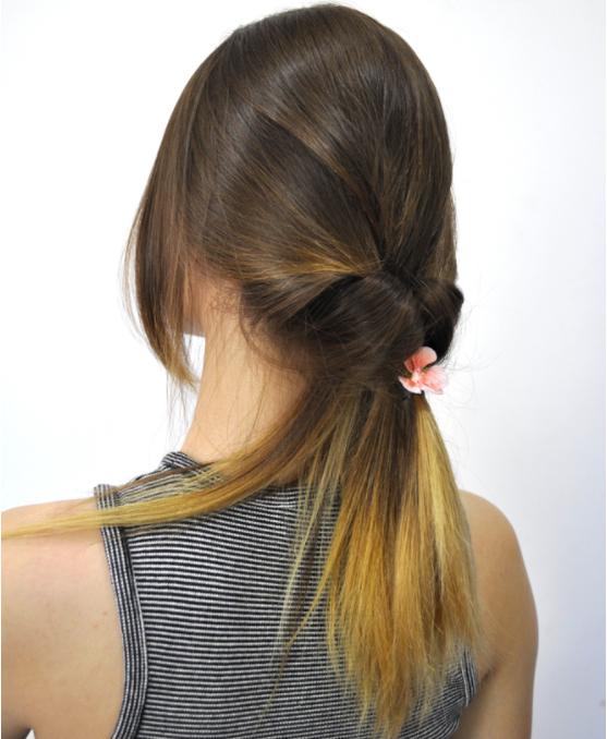 buộc tóc ngắn