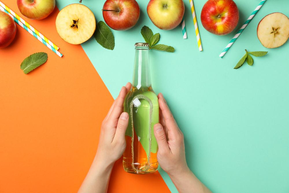 uống gì để giảm mỡ bụng? giấm táo