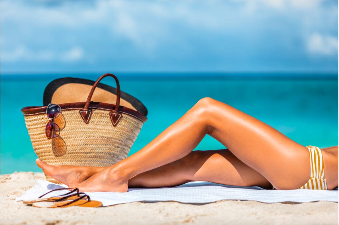 Tẩy lông bằng oxy già khiến cho da trở nên nhạy cảm và dễ bắt nắng hơn