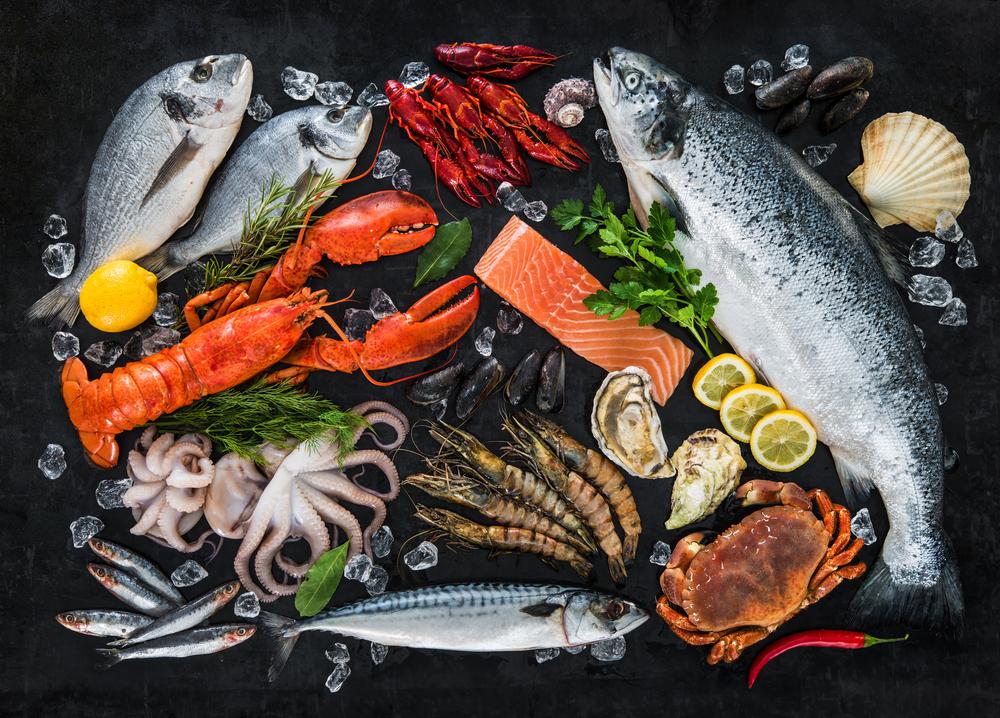 phương pháp giảm cân das diet: ăn hải sản thoải mái