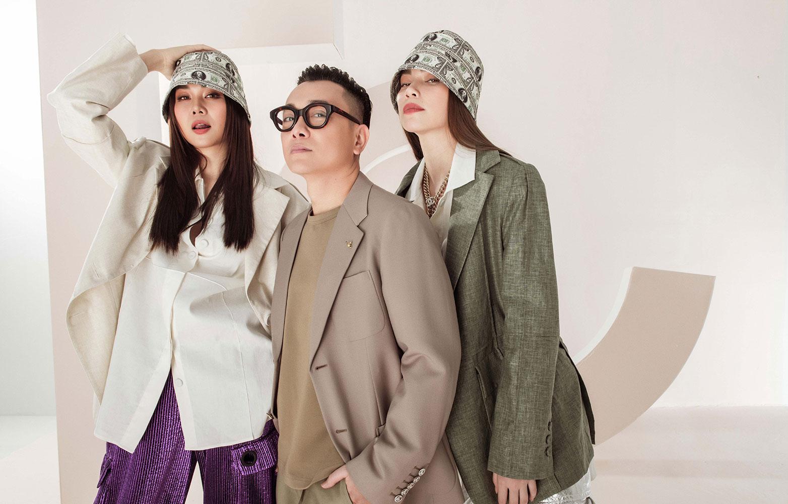 Công Trí, Thanh Hằng và Hà Hồ tung ảnh streetwear: BST CONG TRI Pre-Fall 2021