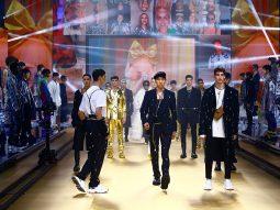 Dolce & Gabbana Men Thu Đông 2021 lấy cảm hứng từ các e-boy và e-girl