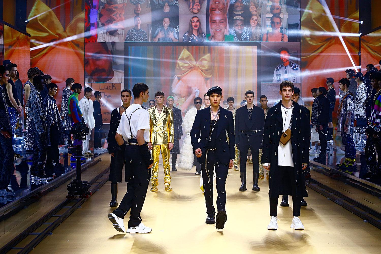 Dolce & Gabbana Men Thu Đông 2021: BST DG Together
