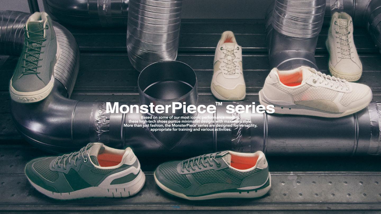 Dòng giày thể thao công nghệ cao của Onitsuka Tiger: Monsterpiece Series 2021
