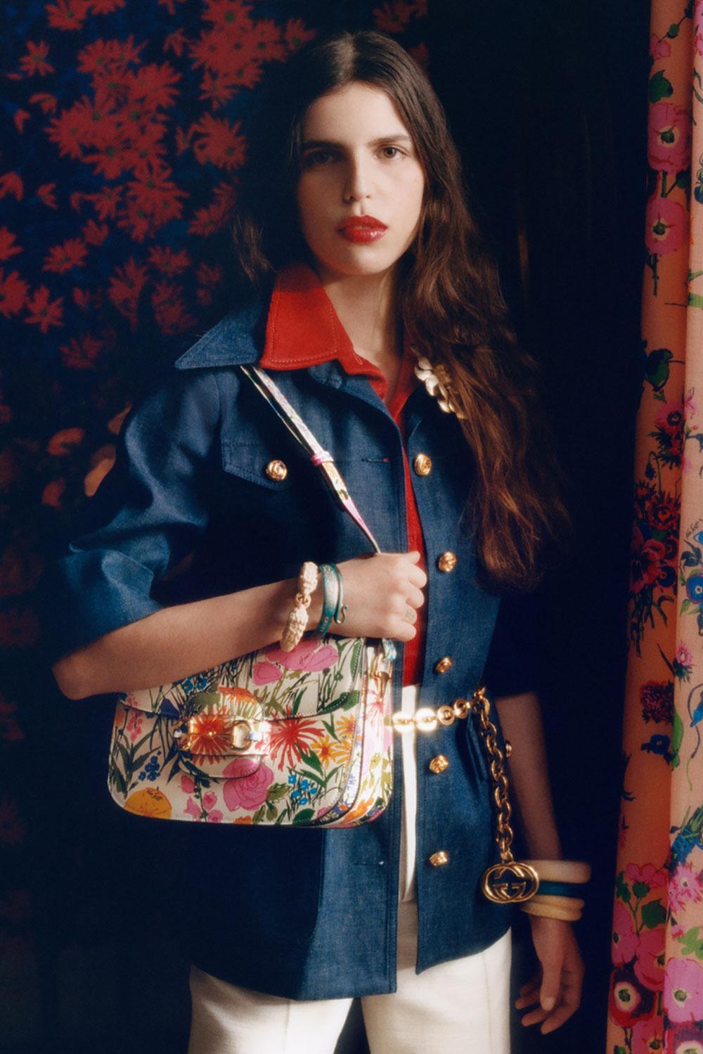 Gucci tôn vinh Ken Scott, NTK họa tiết hoa vĩ đại của thập niên 1960 3