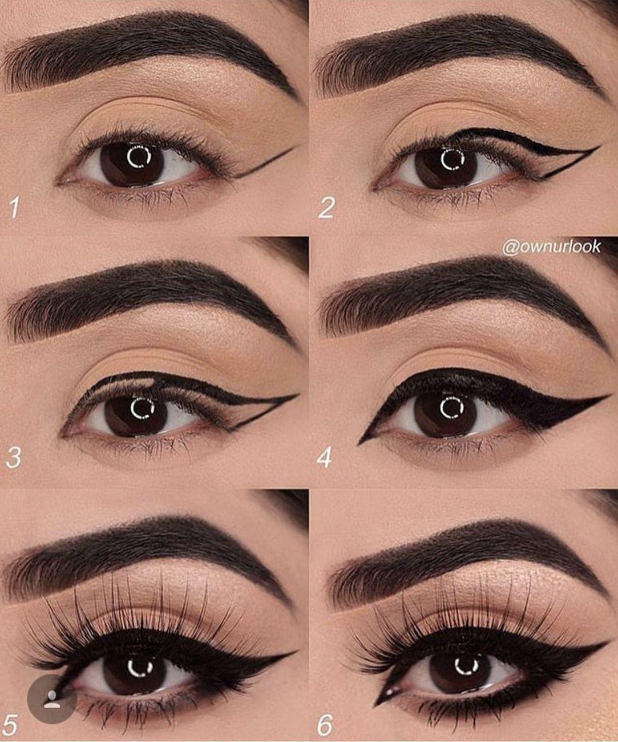 cách kẻ eyeliner ấn tượng