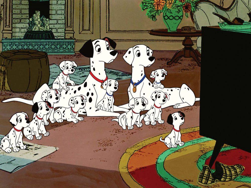 Những bộ phim hoạt hình hay nhất của Walt Disney:101 chú chó đốm