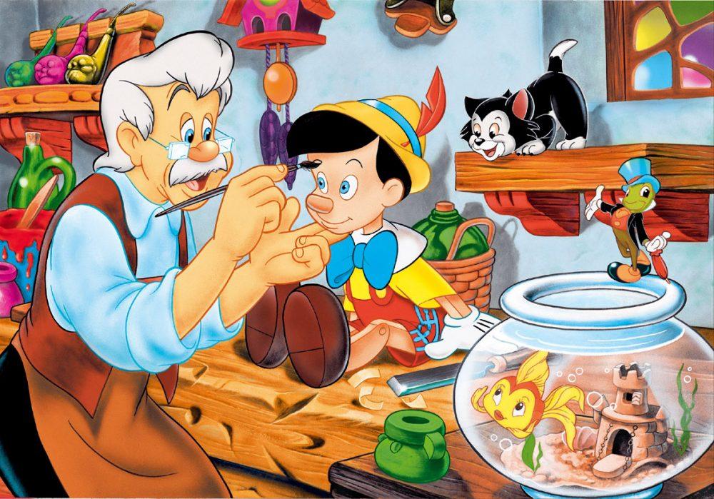 Những bộ phim hoạt hình hay nhất của Disney: Cậu bé người gỗ