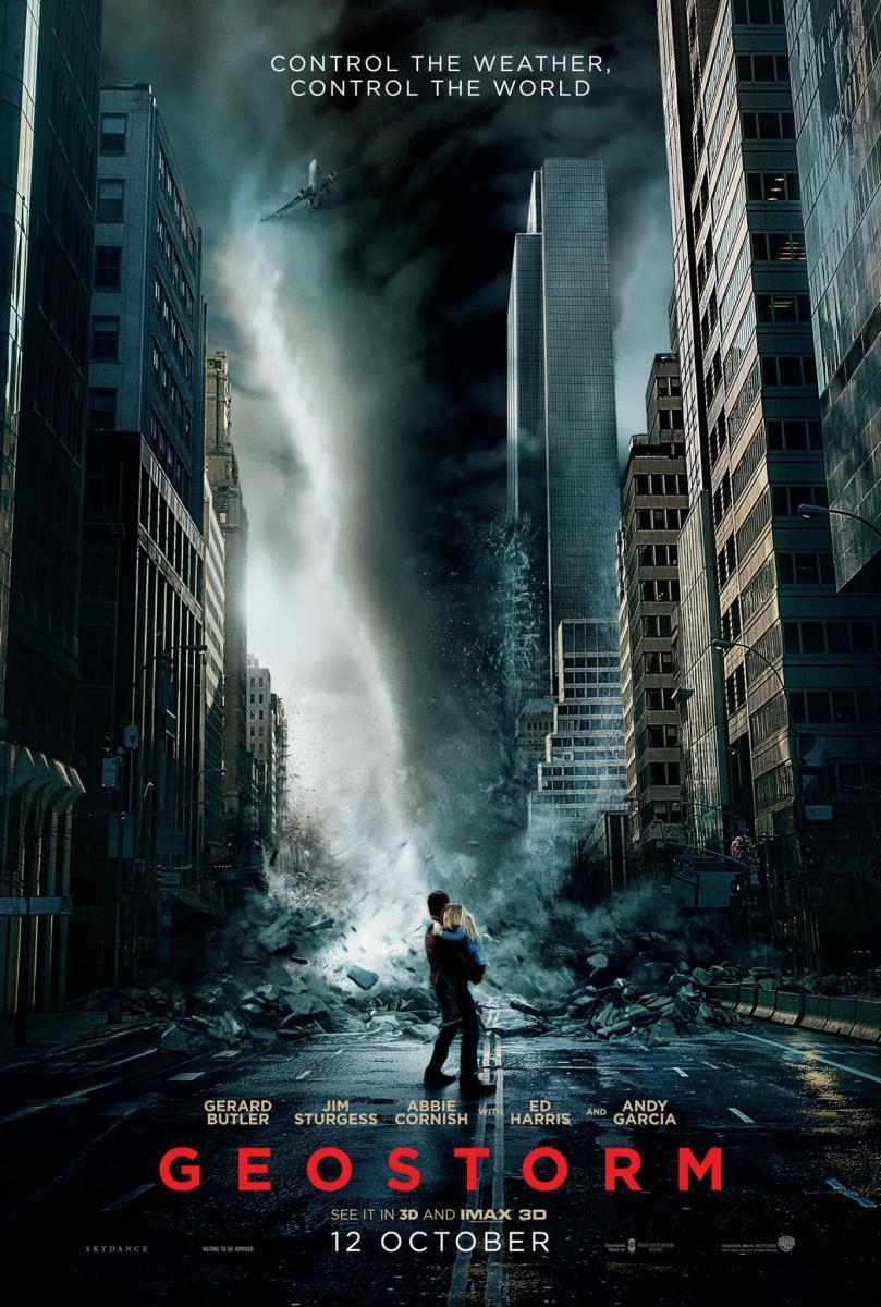 Geostorm (2017) - Siêu bão địa cầu, phim về thảm họa trái đất