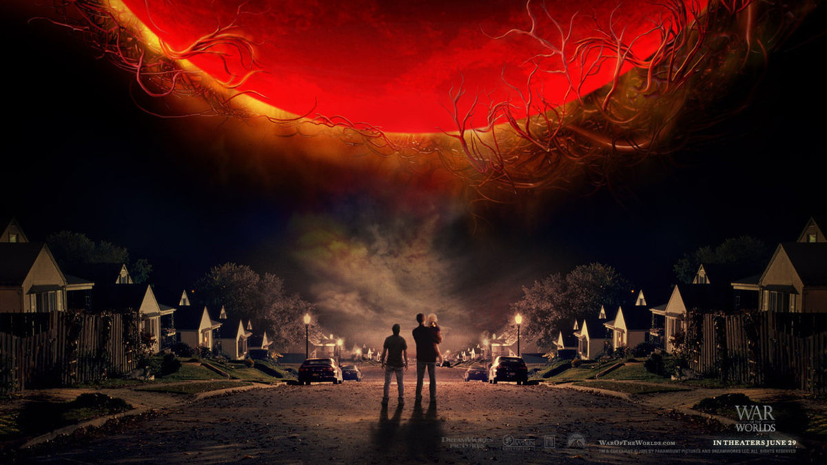 Poster phim War of the Worlds