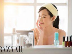 Chăm sóc da mặt sau khi bị thủy đậu
