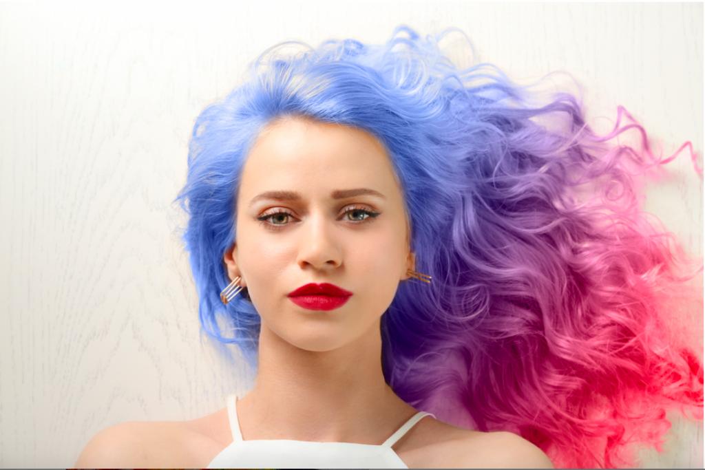 tránh tóc nhuộm màu