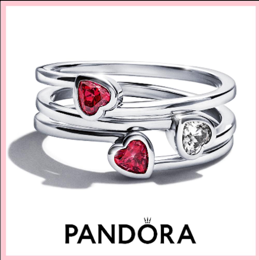 Những mẫu trang sức Pandora cho mùa yêu thương