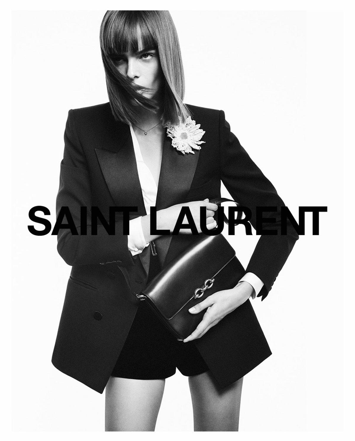Saint Laurent ra mắt túi Maillon không logo, bị đánh giá là giống Gucci 1