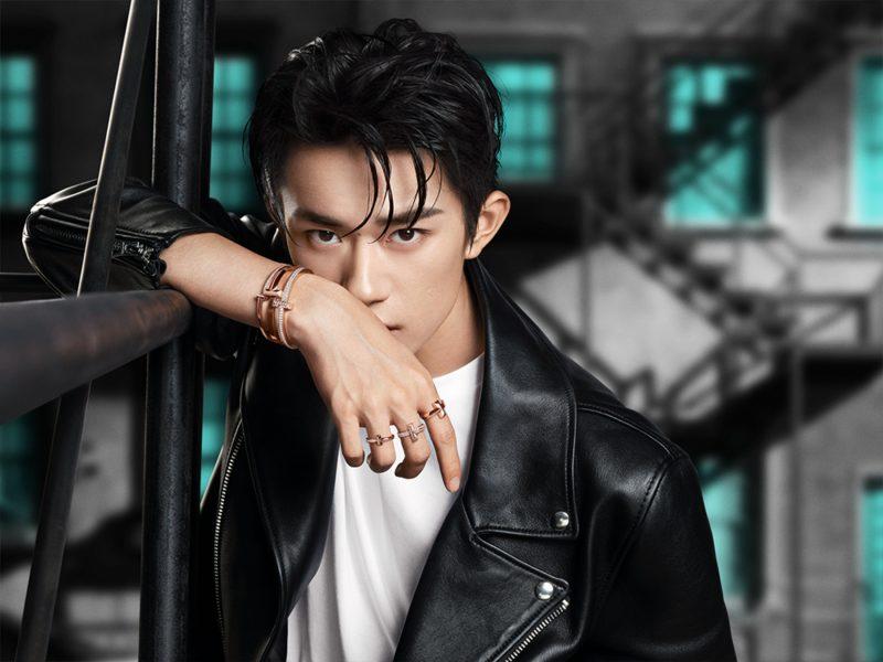 Dịch Dương Thiên Tỉ quảng bá cho Tiffany & Co.. Ảnh: Tiffany & Co..