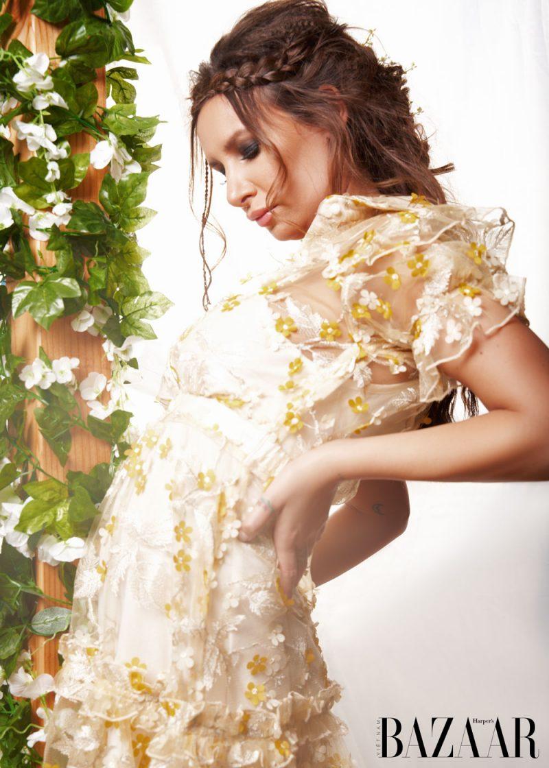 Đầm hoa Inavie by E|3 Collection @e3collection.