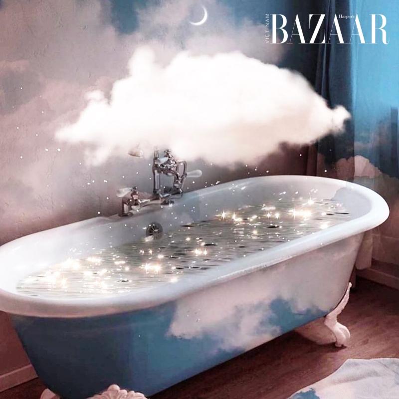 Tắm nước nóng, một cách giảm stress trong 30 giây