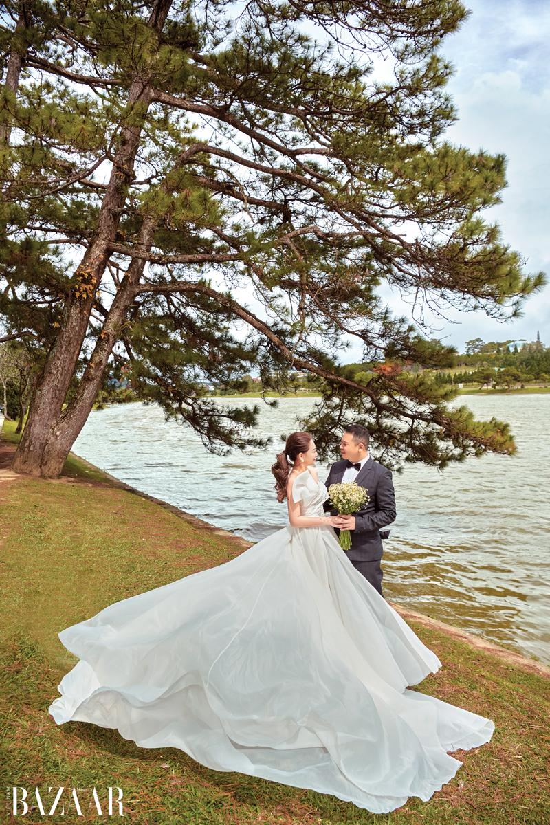 Ảnh cưới của đạo diễn Nguyễn Hiếu Tâm và beauty blogger Julie Lâm