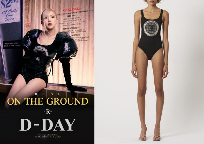 Thời trang Rosé BLACKPINK trong MV On the Ground: Toàn bodysuit! 2