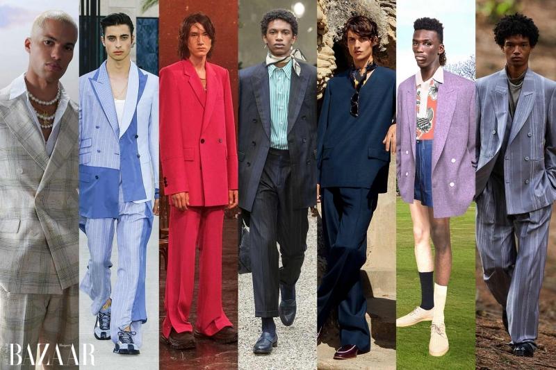 Thời trang cổ điển thập niên 80s quay lại sàn diễn Xuân - Hè 2021